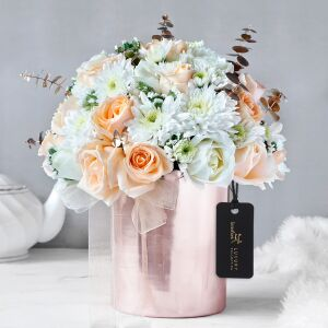 Elite Sheen Floral Vase Arrangement