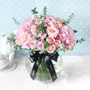 Pink Extravaganza Flower Arrangement